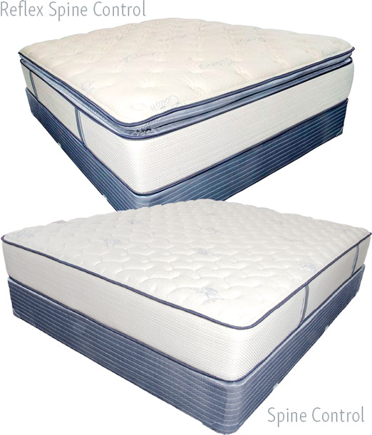 Sleep Solutions Reflex Spine Control Pillow Top