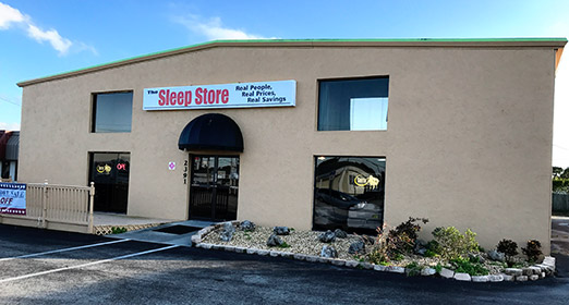 The Sleep Store's Englewood Storefront