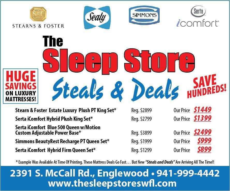 Steal and Deals Flyer