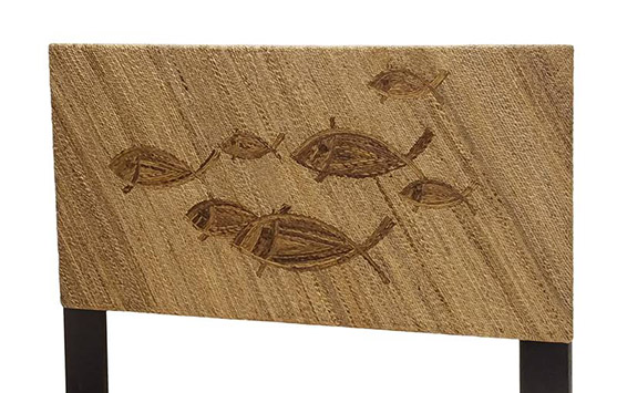 School of Fish Woven Headboard