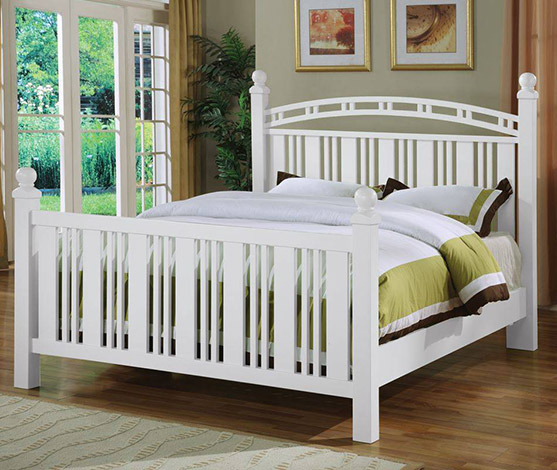 Seaside Slat Bed