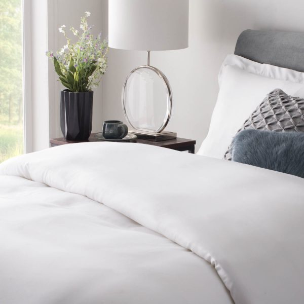 Rayon From Bamboo Duvet Set on Bed