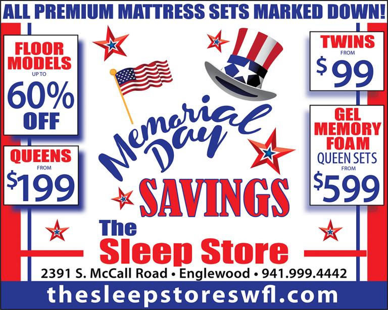 Memorial Day Savings Ad