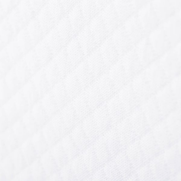 Malouf Matelassé Bed Skirt fabric detail