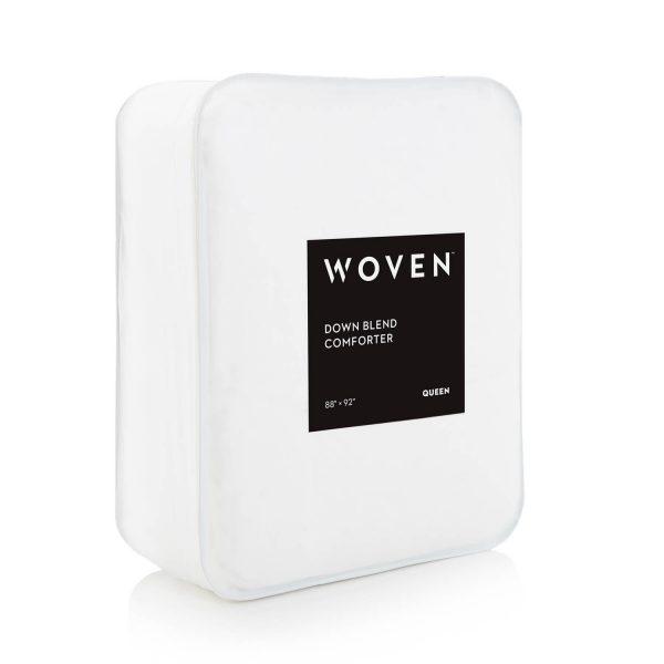 Malouf Woven ™ Down Blend Comforter packaging