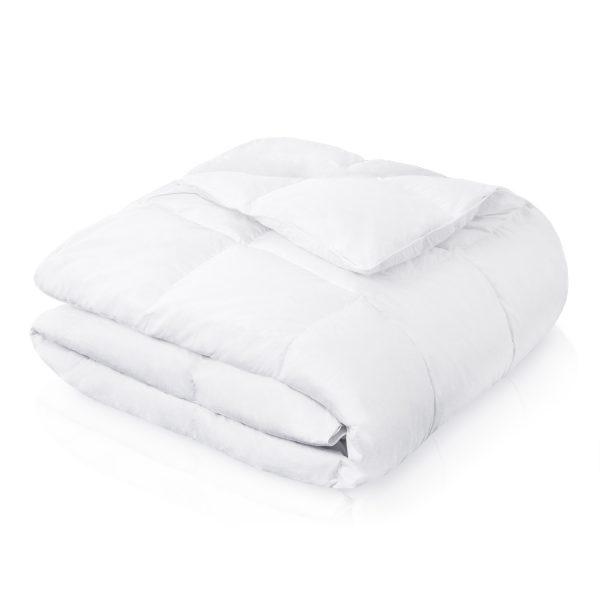 Malouf Woven ™ Down Blend Comforter folded