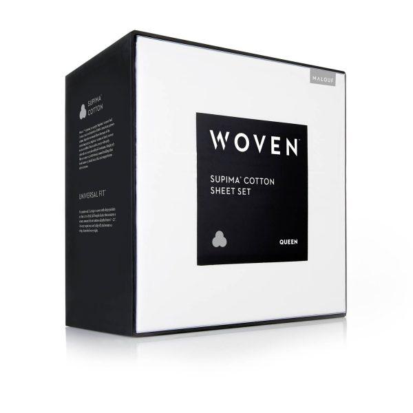Malouf Woven ™ Supima® Premium Cotton Sheets packaging