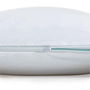 Malouf Pr1me® Smooth Pillow Protector zipper