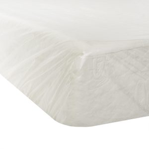 Malouf Seal Tite® Mattress Bag - Corner of mattress in bag