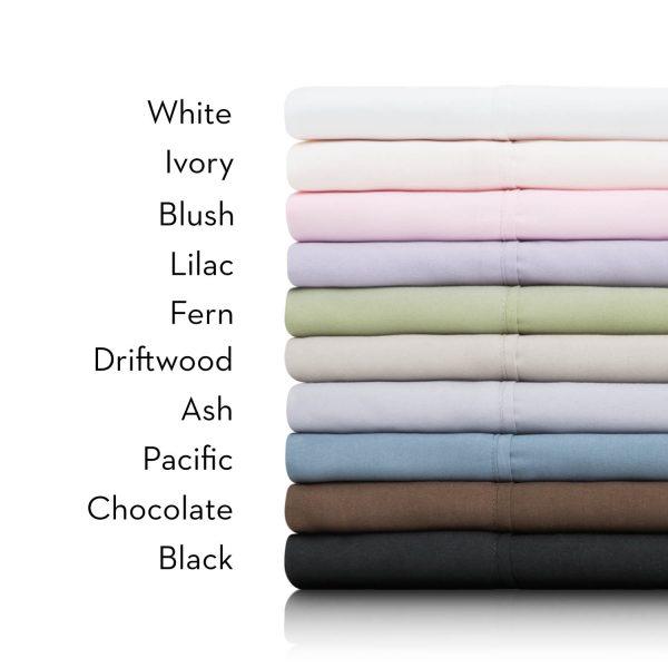 Malouf Woven ™ Brushed Microfiber Sheet Set - all color names