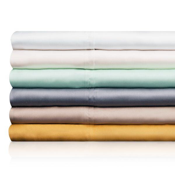 Malouf Woven ™ TENCEL™ Sheet Sets - stacked