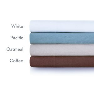 Malouf Woven ™ Portuguese Flannel Sheet Set color names