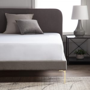 Weekender Hotel-Grade 5-Sided Mattress Protector - photo of bed