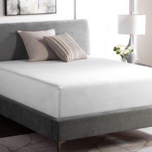 Weekender Encasement Mattress Protector - photo of bed