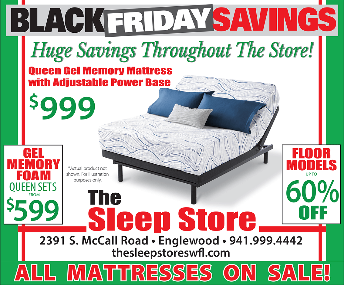 Black Friday Sale Ad - Huge Savings Throughout the Store!