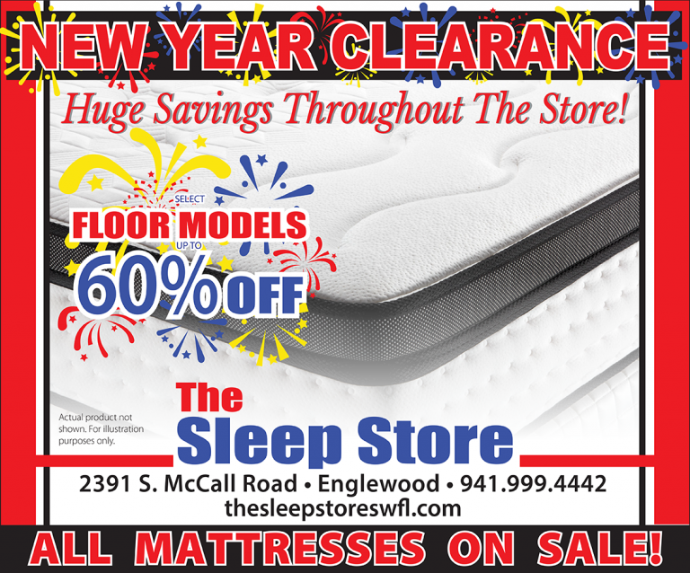 New Year Clearance Banner