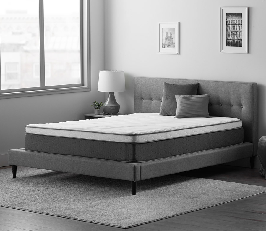 "Neeva 12"" Hybrid Mattress - Plush - in shown in a bedroom"