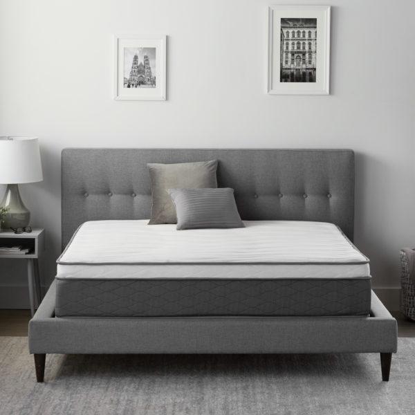 "Neeva 12"" Hybrid Mattress - Plush - in shown in a bedroom"