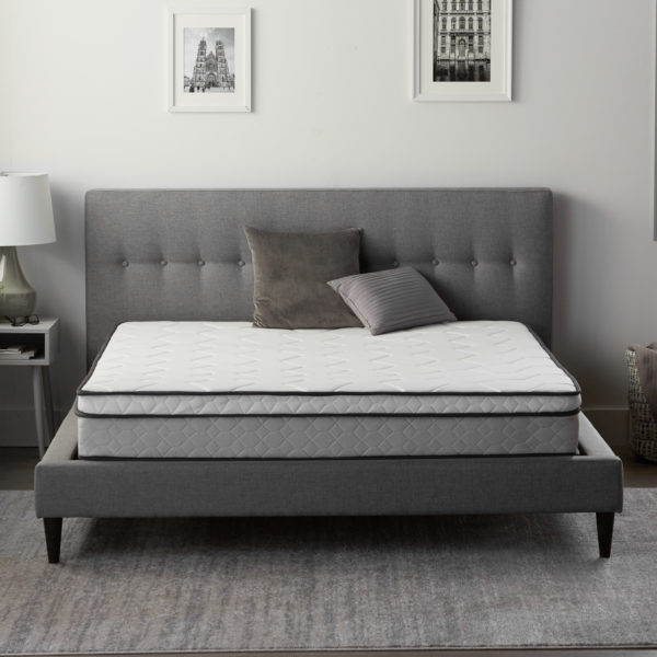 "Neeva 8"" Hybrid Mattress - Plush - in shown in a bedroom"