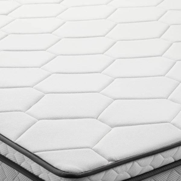 "Closeup of quilting on Neeva 8"" Hybrid Mattress - Plush"