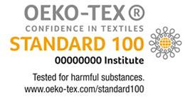 OEKO-TEX confidence in textiles logo