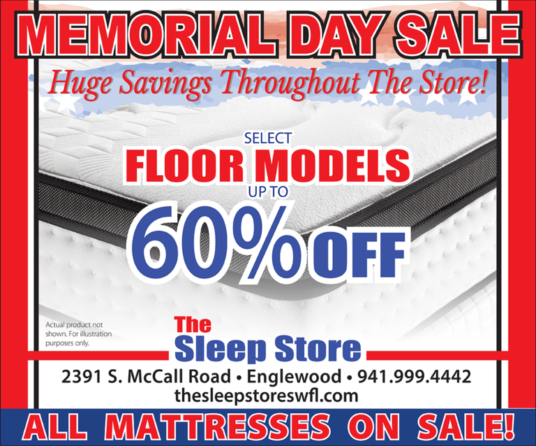 Memorial Day Mattress Sale - Select Floor Models Up to 60% Off