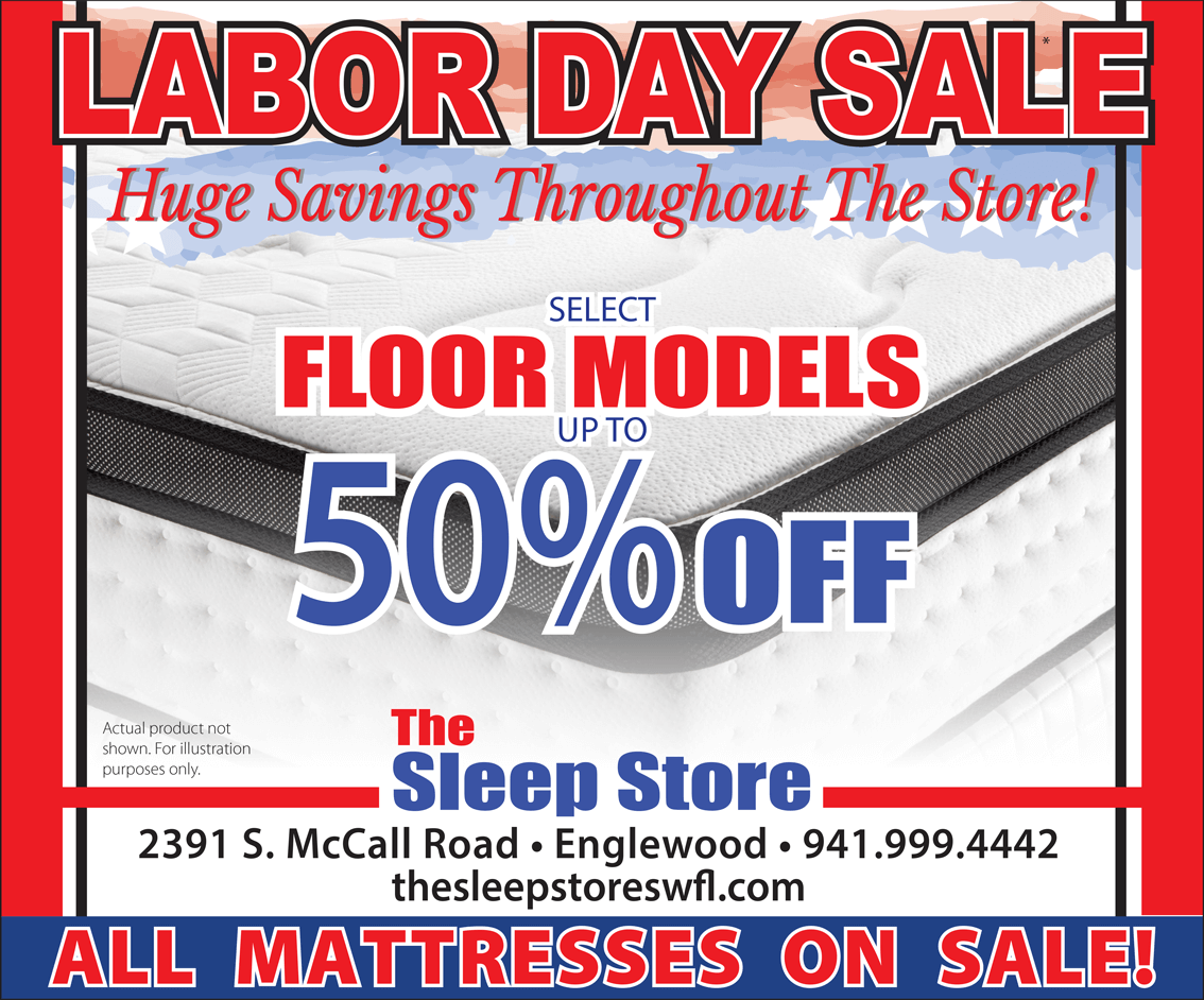 Labor Day Mattress Sale - Up to 50% Off Select Floor Models